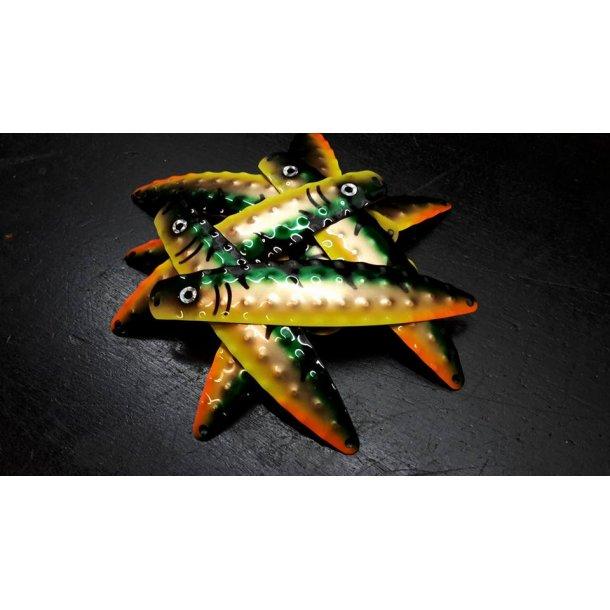 Hybrid Stor Nr. 23 Metallic Green - Cobber - Fluo Yellow Tiger