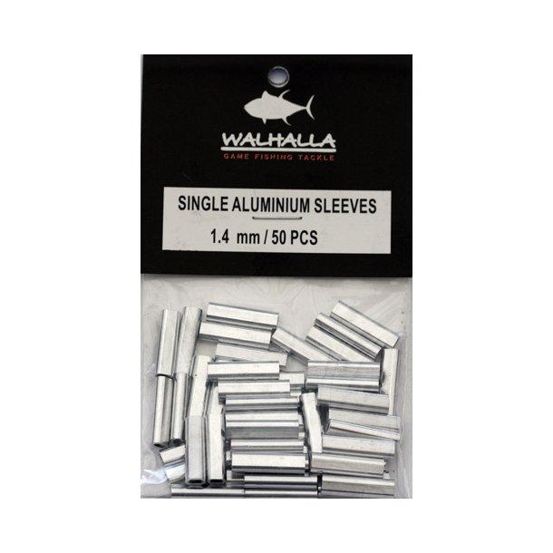 Walhalla Single Aluminium Sleeves 1,4mm