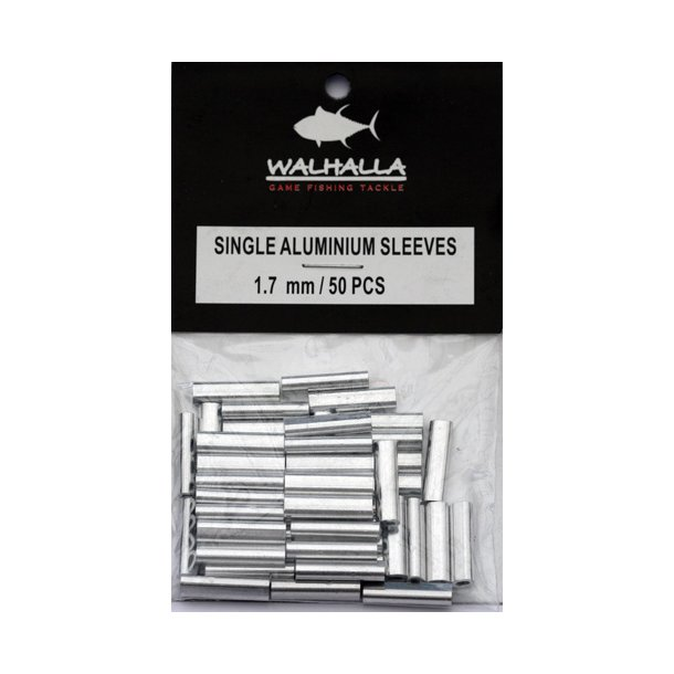 Walhalla Single Aluminium Sleeves 1,7mm