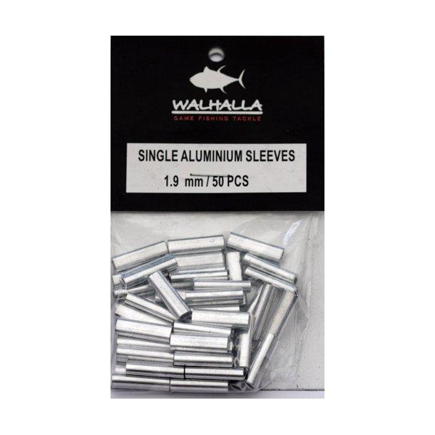 Walhalla Single Aluminium Sleeves 1,9mm