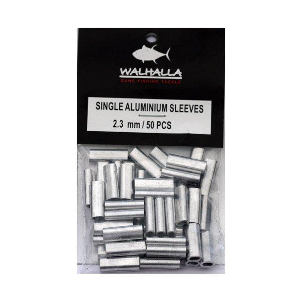 Walhalla Single Aluminium Sleeves 2,3mm