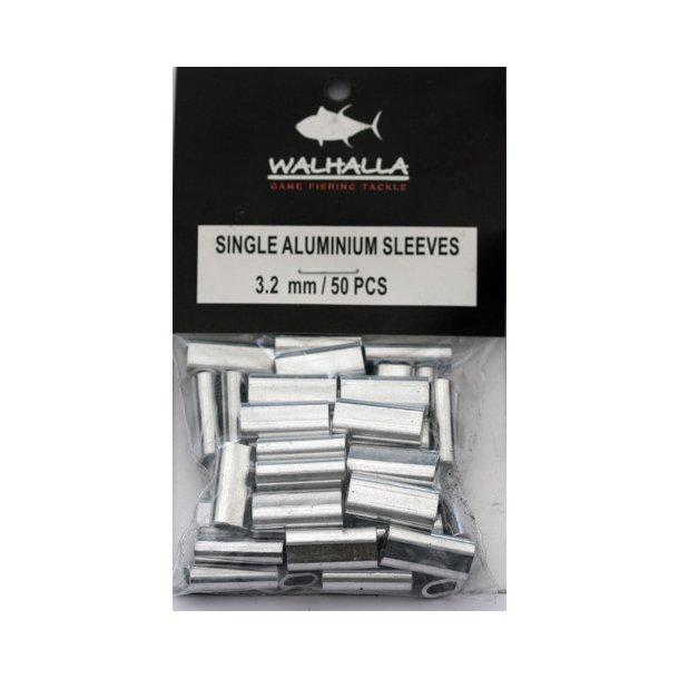 Walhalla Single Aluminium Sleeves 3,2mm
