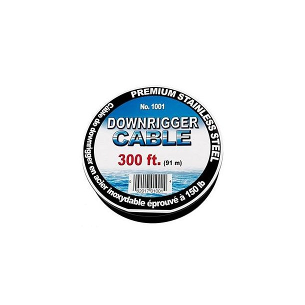 SCOTTY 1001 300' STAINLESS STEEL DOWNRIGGER CABLE